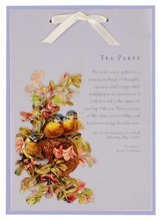 Inviting Tea Party Invitations